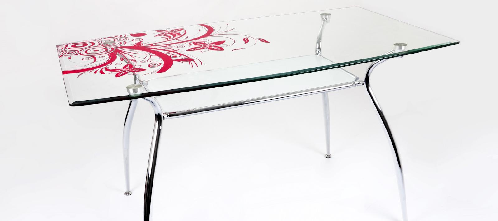 Как ухаживать за кухонным стеклянным столом   Комфортный офис